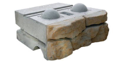 Ledgestone Middle Block Redi-Rock 2400 lbs