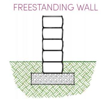 Rosetta Kodah Freestanding_Wall