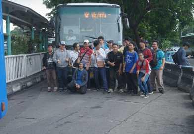 Penggemar Transjakarta Lepas Kepergian Operator Lorena