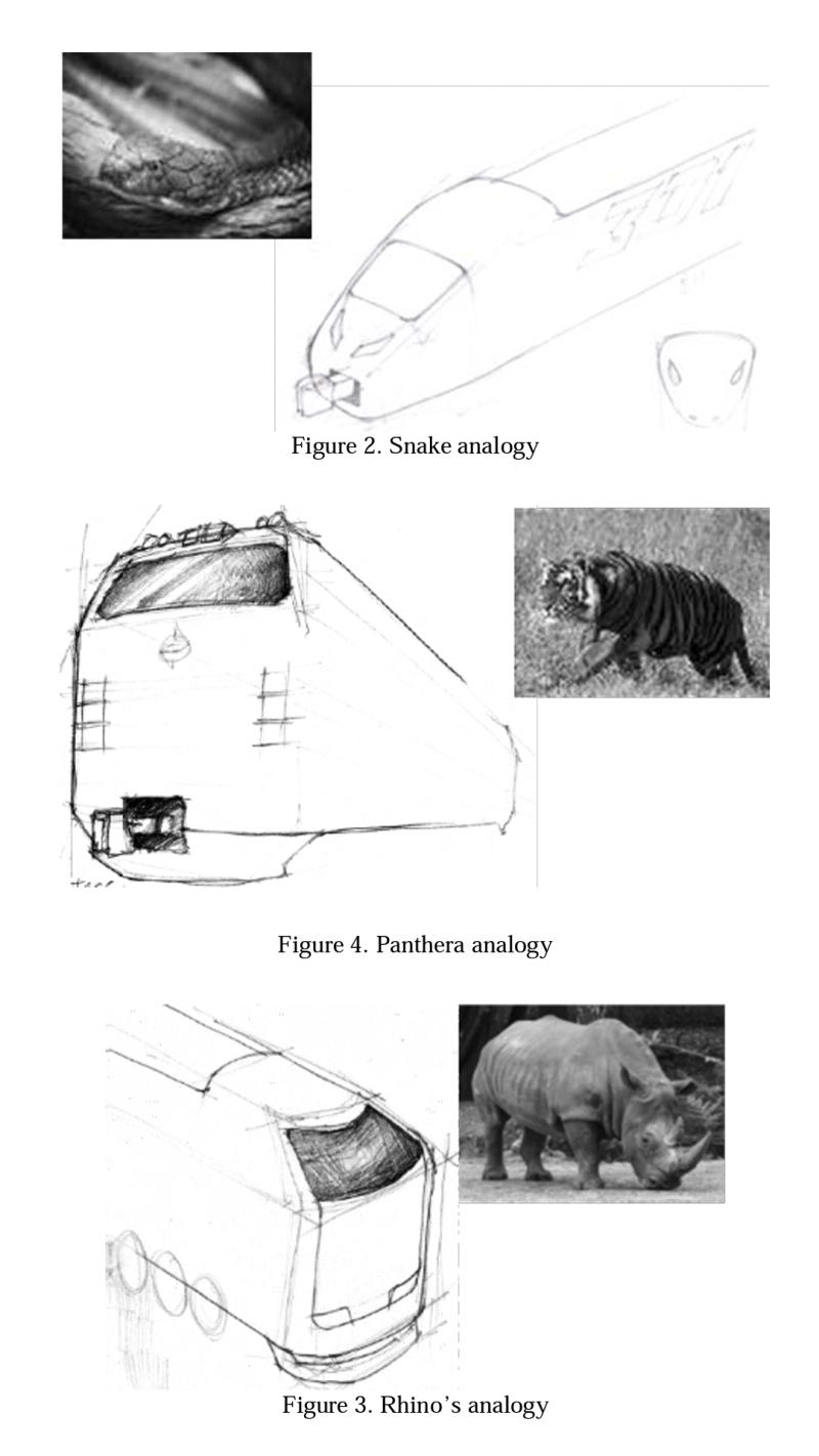 Tiga Analogi Desain Kabin Kereta yang Dibuat oleh ITS Design Center, PT INKA dan PT Raillink │ Sumber : ITS