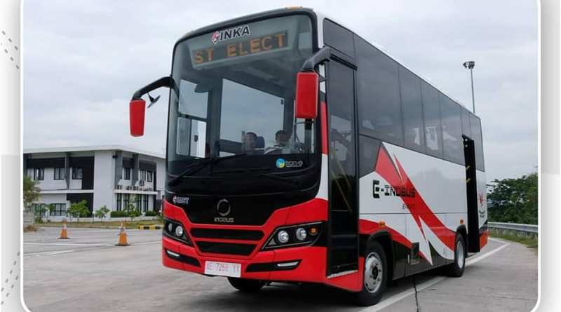 INKA Ujicoba Prototipe Bus Listrik E-Inobus Mereka