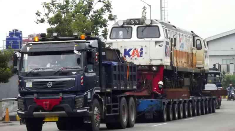 "Dua Lokomotif CC 206 ""Transmigrasi"" ke Sumatera"