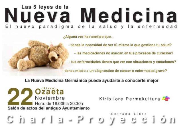 Cartel Nueva Medicina Germánica