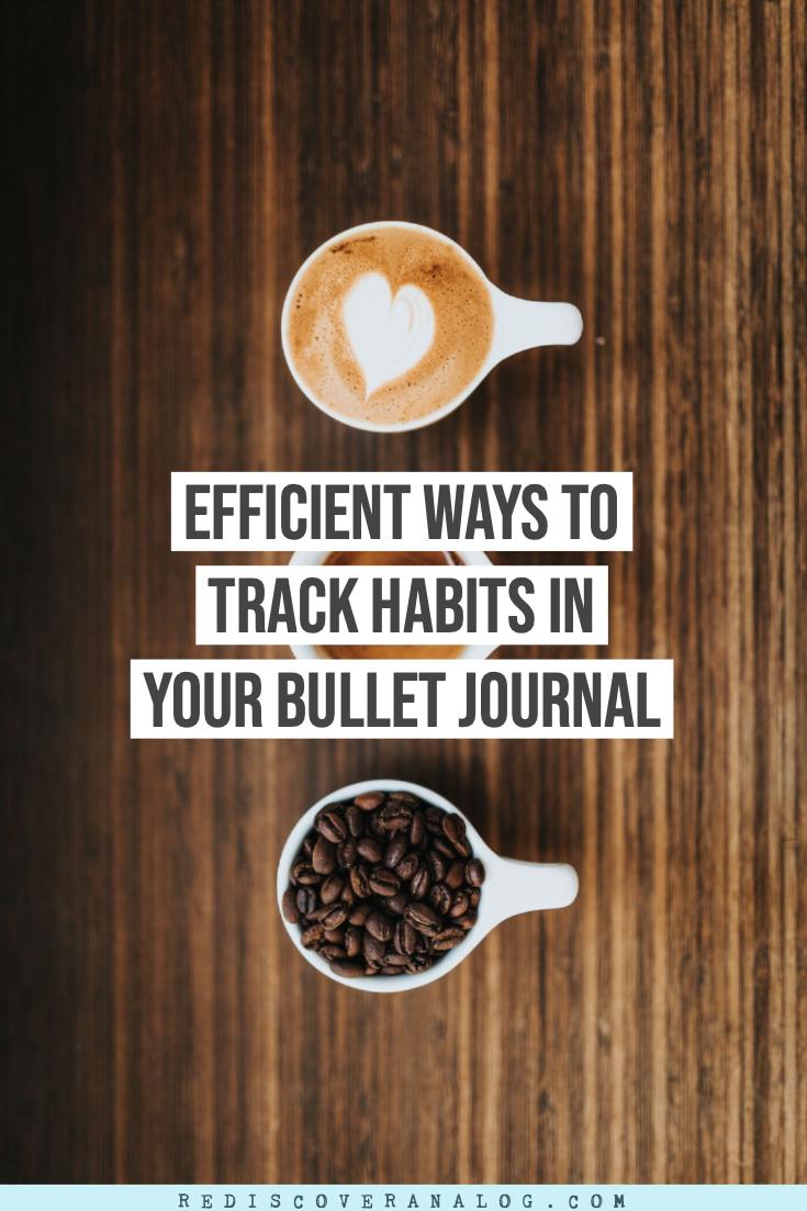 Bullet Journal Habit Tracker + Ideas