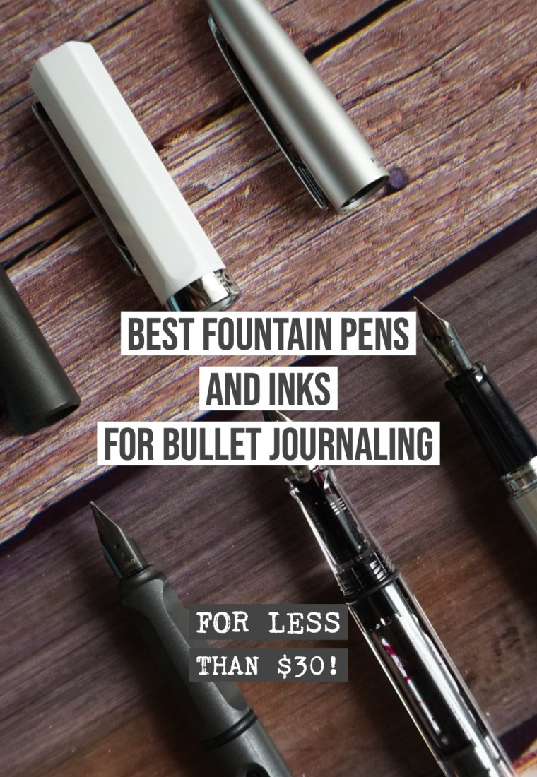Best Fountain Pens and Inks for Dot Grid Journals