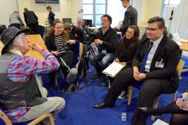 Students interview Noddy Holder