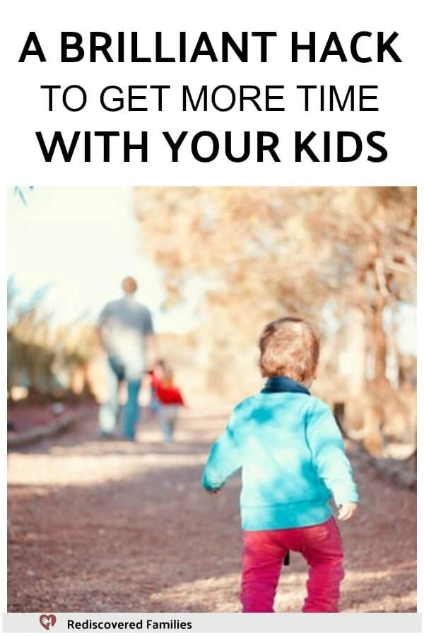 A brilliant hack to get more time with your kids