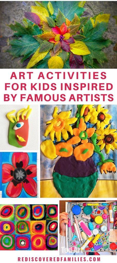 famous artwork for kids