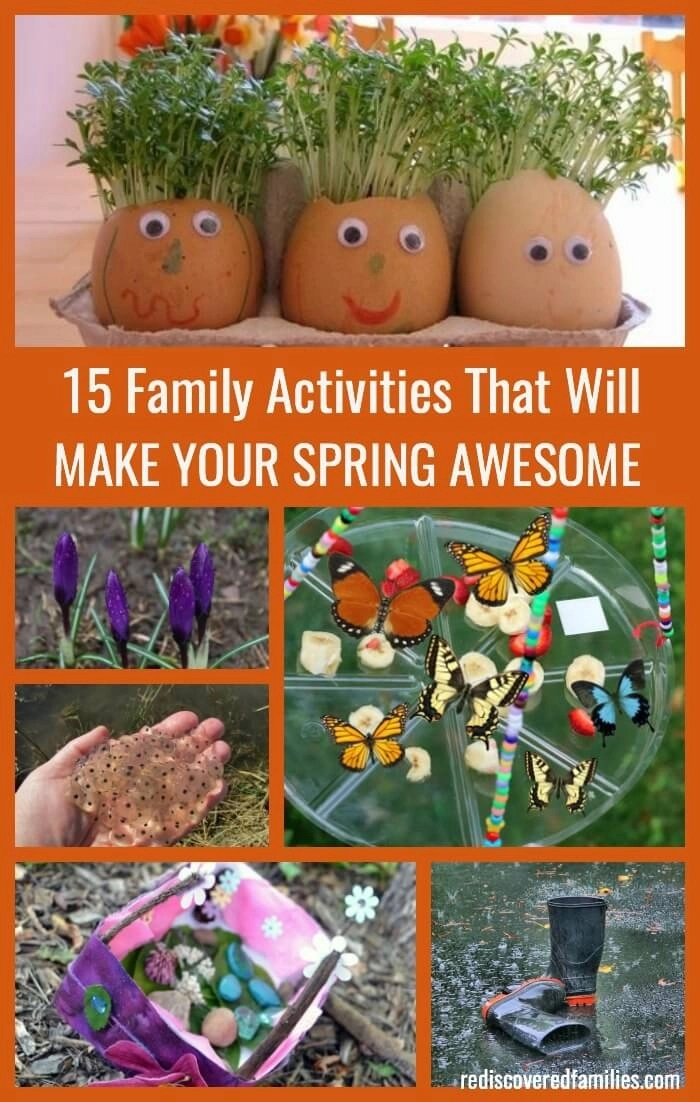 Are you ready for spring? I've gathered 15 of the BEST spring activities for you to enjoy with your kids. Includes science, planting activities, and lots of outdoor fun. The bicycle tune up is a must!