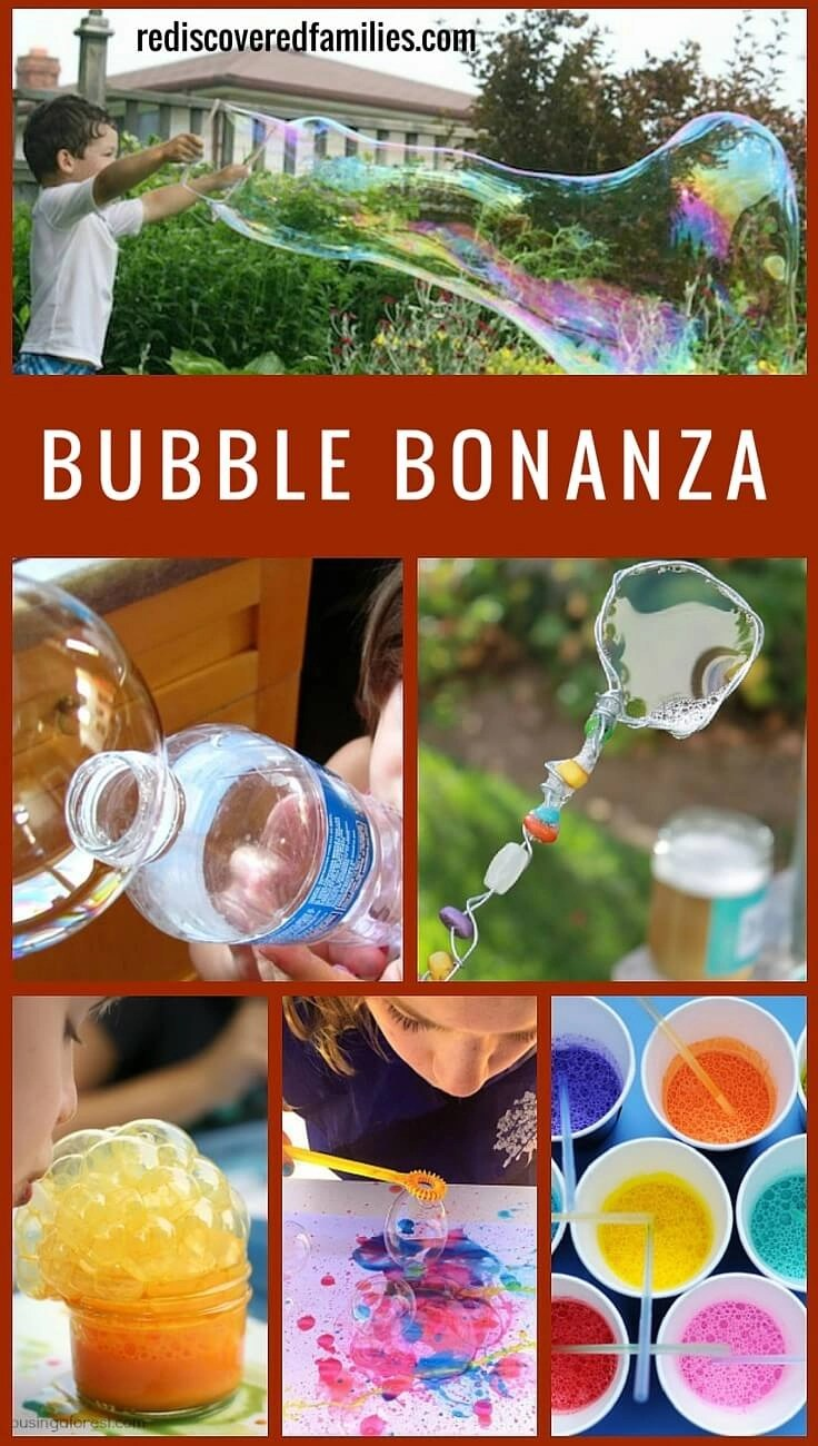 Fun Bubble Activities For Kids