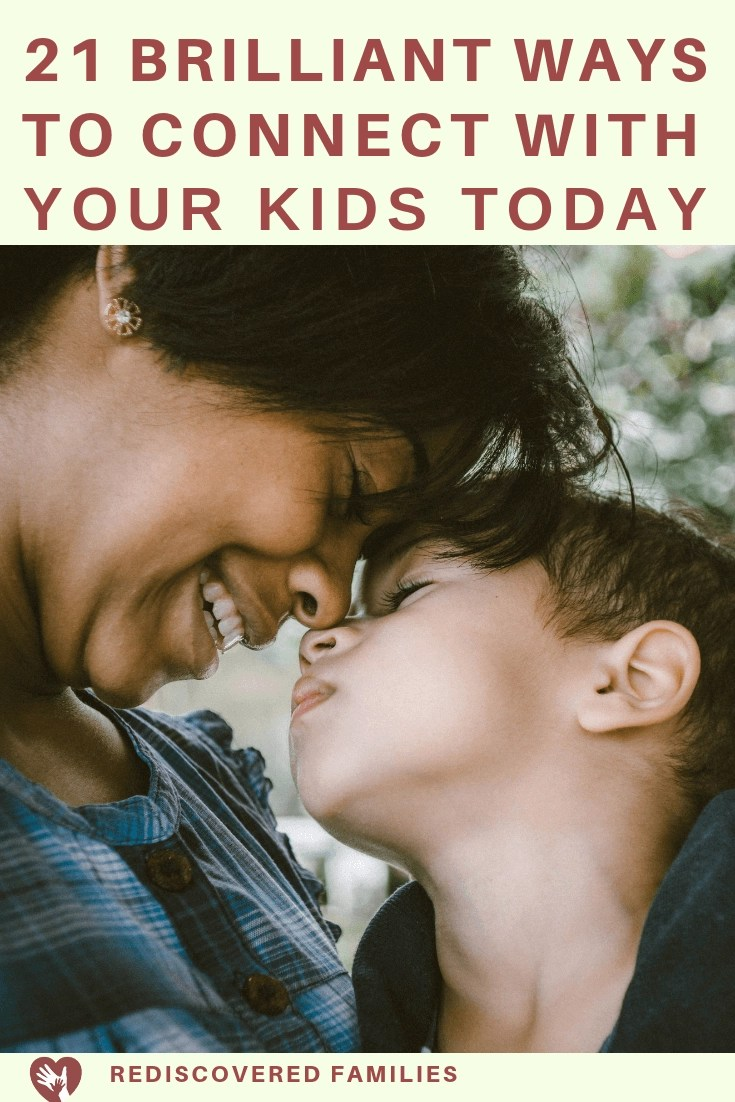 Connect with your kids today