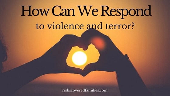 How Can We respond to Violence and Terror? 30 years ago two mothers said ENOUGH! We are tired of the violence that is killing our children. We want to live and love and build a just and peaceful society. They started a movement that brought peace to a country plagued with violence and terror. Now it's our turn to do the same. Love wins!
