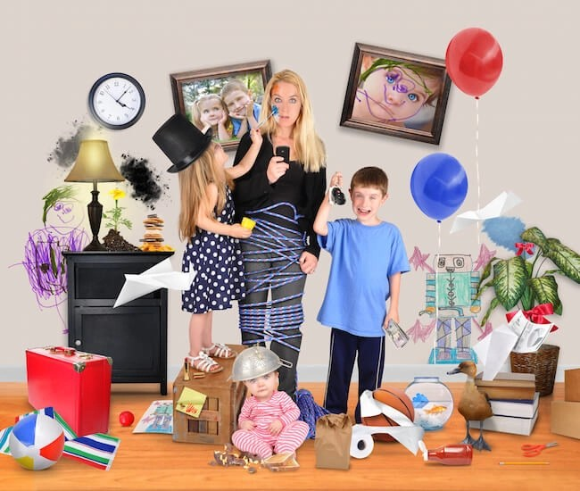 Tired of living in chaos? These three simple steps will show you how to organize your home and life.