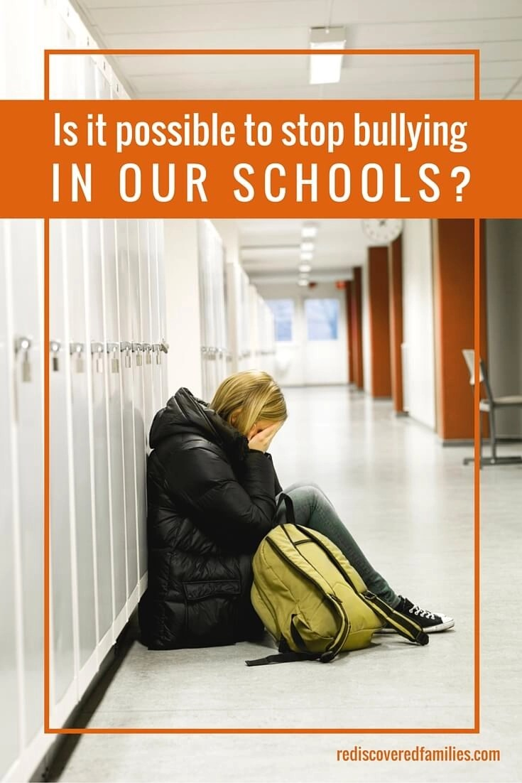 Bullying in our schools is a very real problem for many children. Is it possible to stop it? What can you do if your child is being bullied?