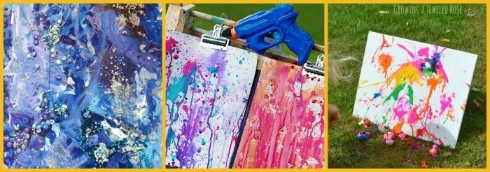 """Have your kids go wild with colorful art projects inspired by """"Swatch: The girl who loved colors"""" by Julia Denos. Kids love this vibrant, imaginative book."""