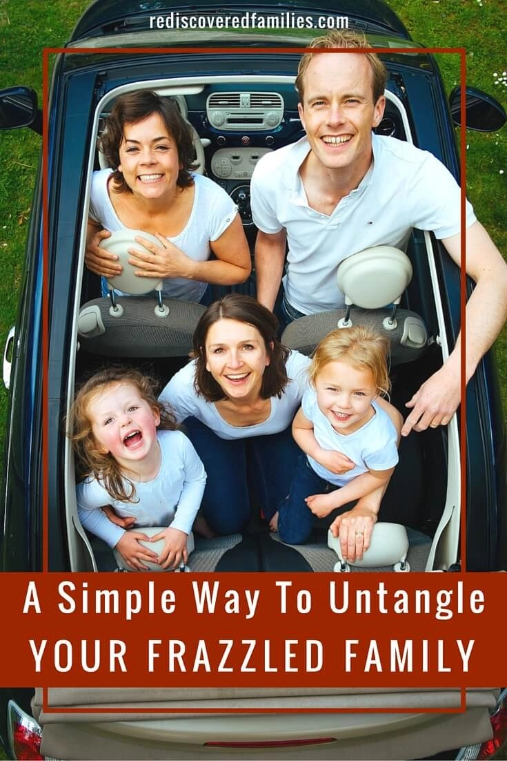 A Simple Way To Untangle Your Frazzled Family