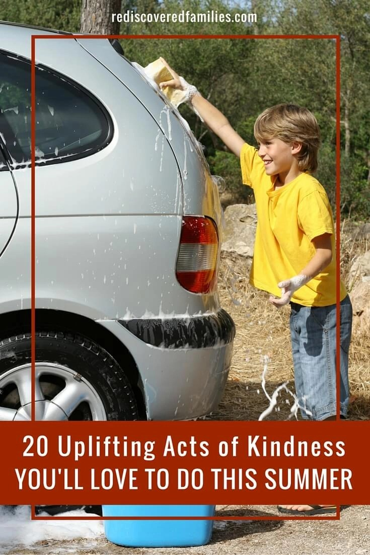 20 Uplifting Acts of Kindness You'll Love To Do This Summer