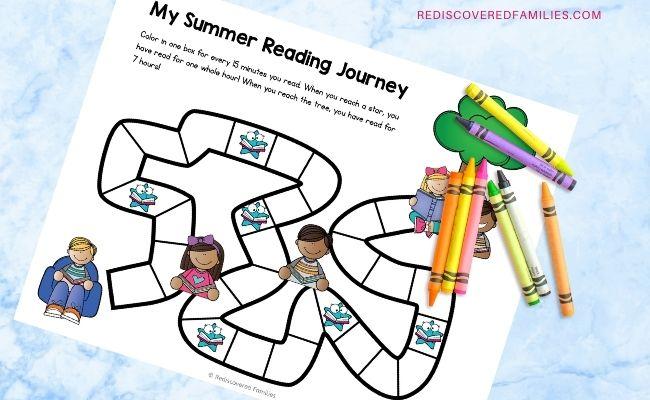 summer reading log 3