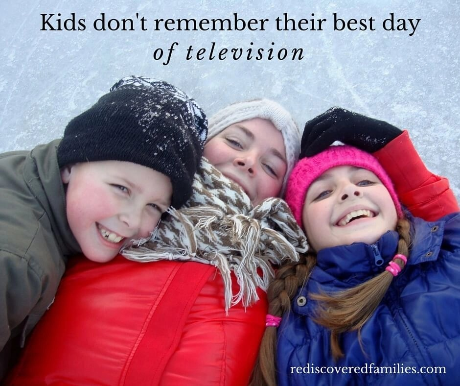 kids don't remember their best day of television