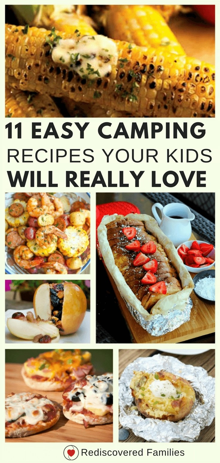 Quick & Easy Campfire Meals For Families
