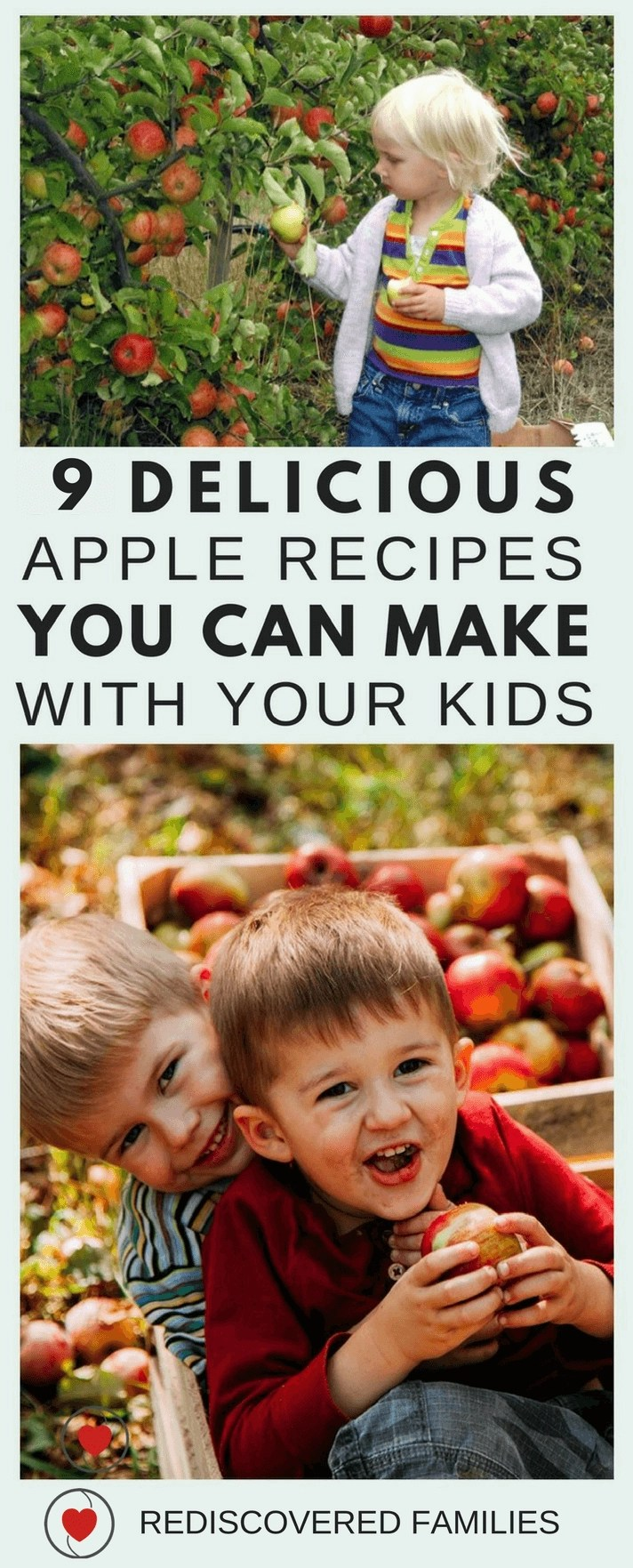 Delicious Apple Recipes To Make With Your Kids