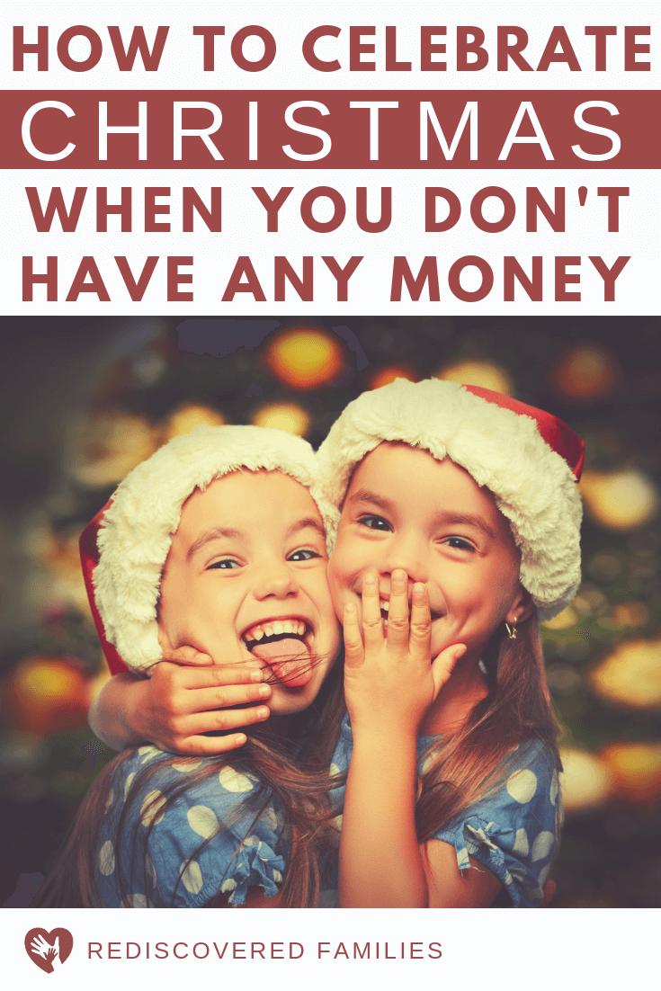 No Money for Christmas