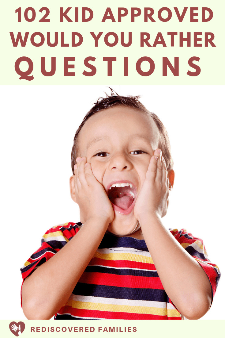 would you rather questions for kids