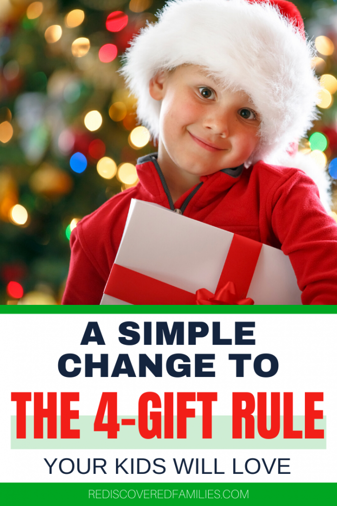 simplify gifts giving at Christmas