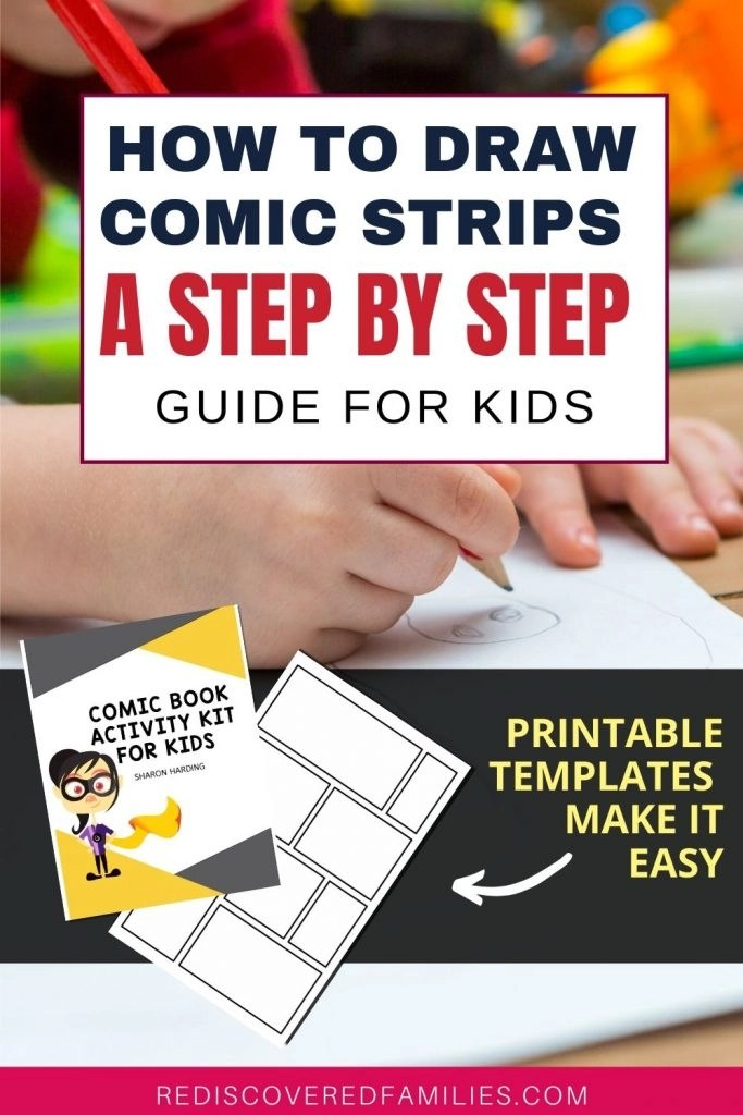 How to draw comic strips