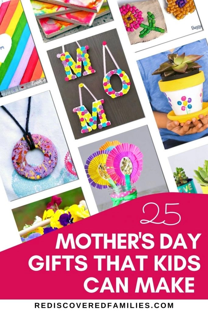 A collection of Mother's Day Crafts