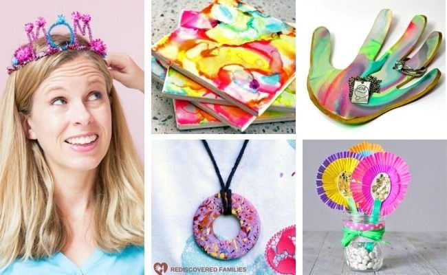 26 Easy Mother's Day Crafts For Kids