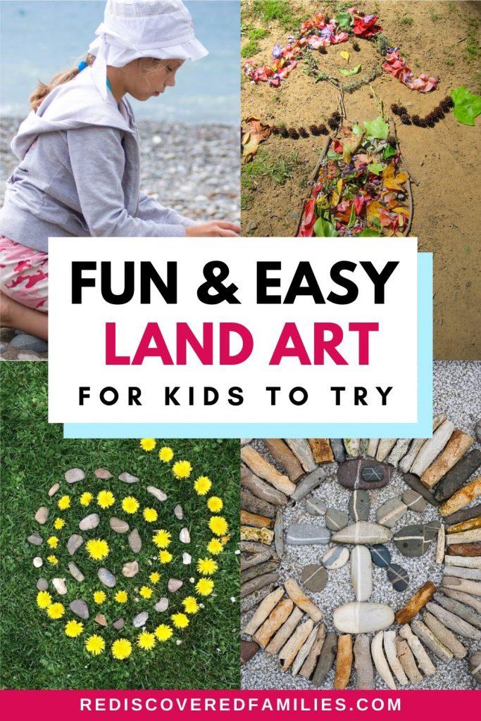 Land Art For Kids