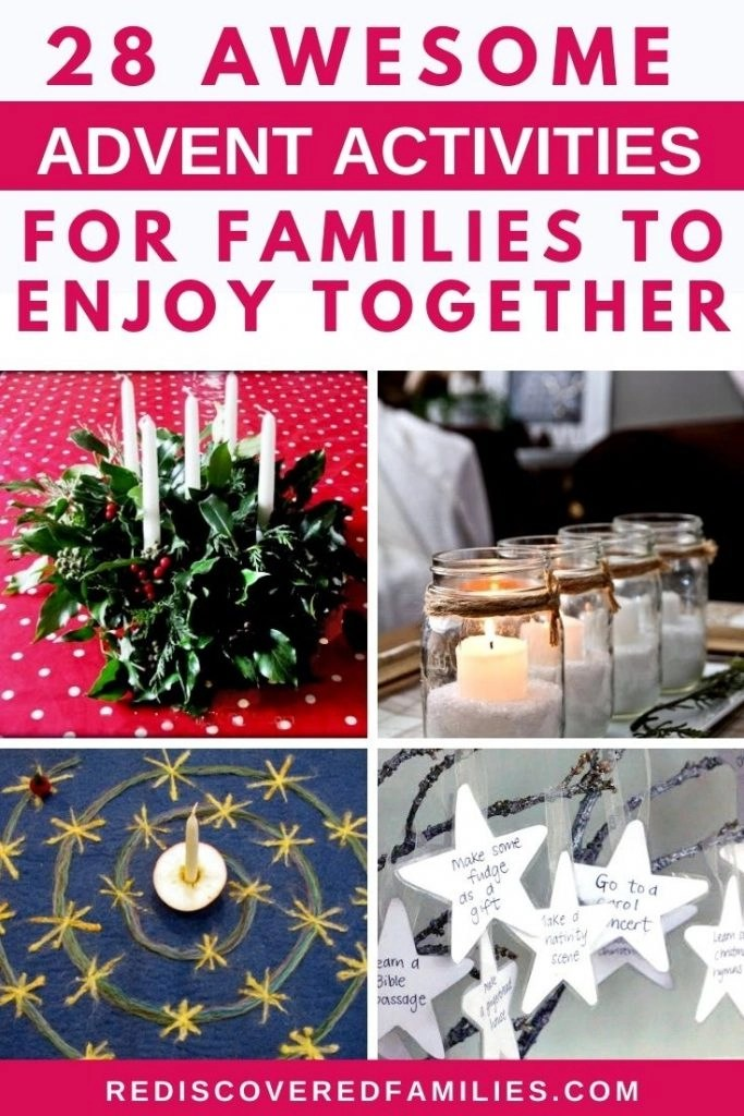 Family Advent Activities Pin