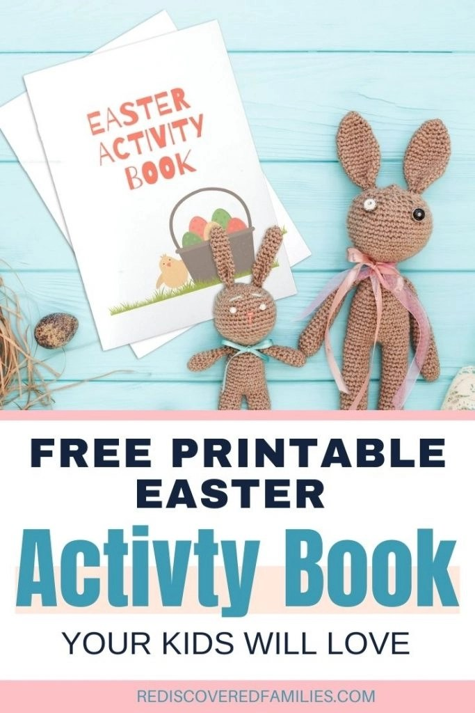 Easter Activity book pin