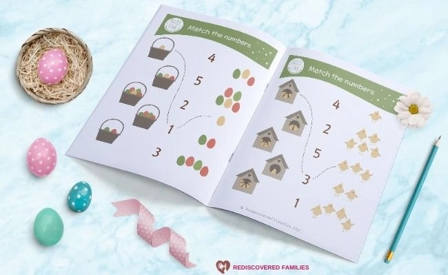 close up pages in free printable book