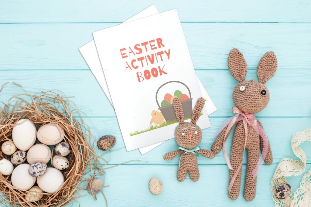 Easter Activity Book: Puzzles and Games Your Kids Will Love