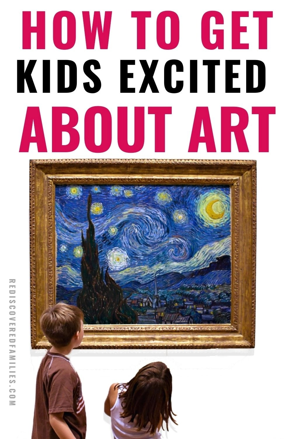 Famous artwork for kids pin