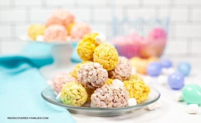 Rice Krispies Easter Eggs Your Kids Will Love to Make