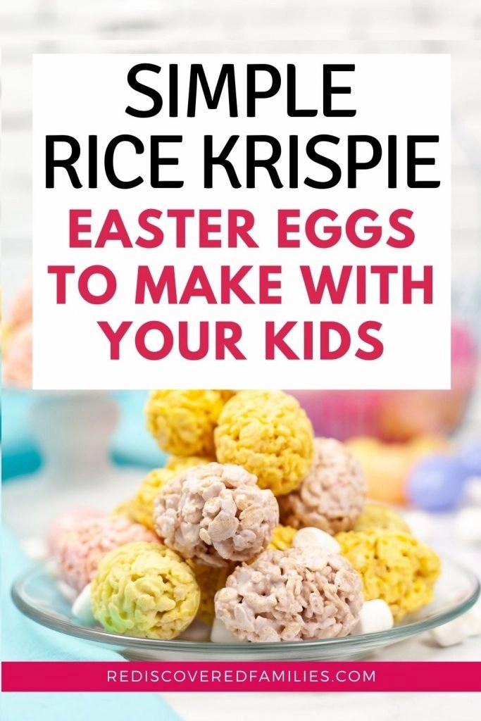 Rice Krispies Easter eggs pin