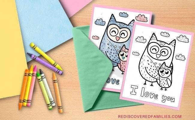 Mother's Day cards ready to make