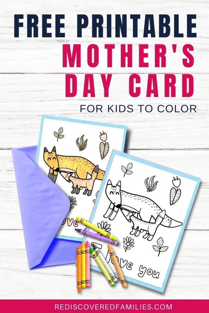 mothers day coloring cards  pin