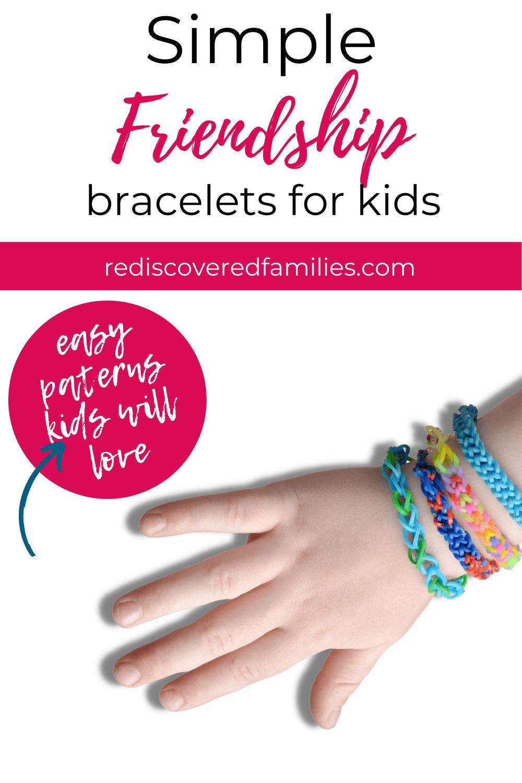 easy friendship bracelet patterns