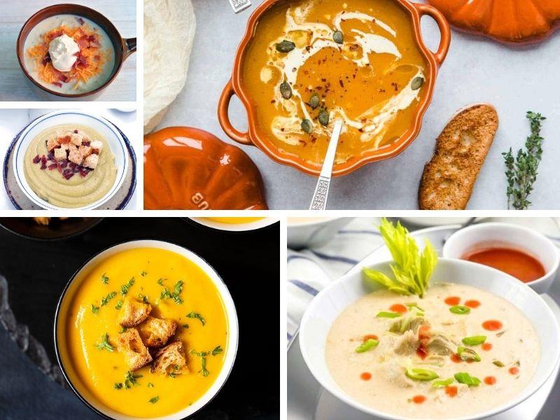 Hidden veggies soups