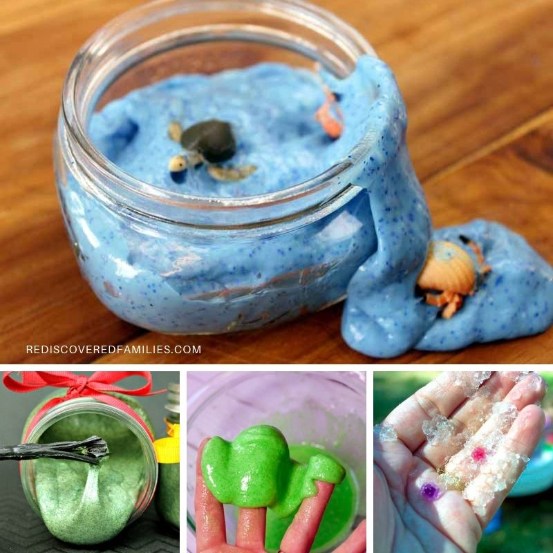 a collection of slime science experiments