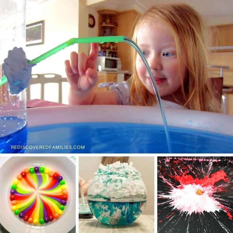 a collection of water experiments