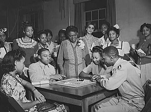 Bethune at the Phyllis Wheatley YWCA in Washington, D. C.