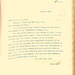 Carroll D. Wright to W.E.B. Du Bois letter (NAID 7216243)