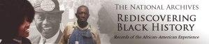 Banner for Rediscovering Black History blog