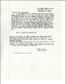 Letters urging the President to take action on discrimination in schools, public places, and housing. [JFKWHCSF-0367-008-p0109]