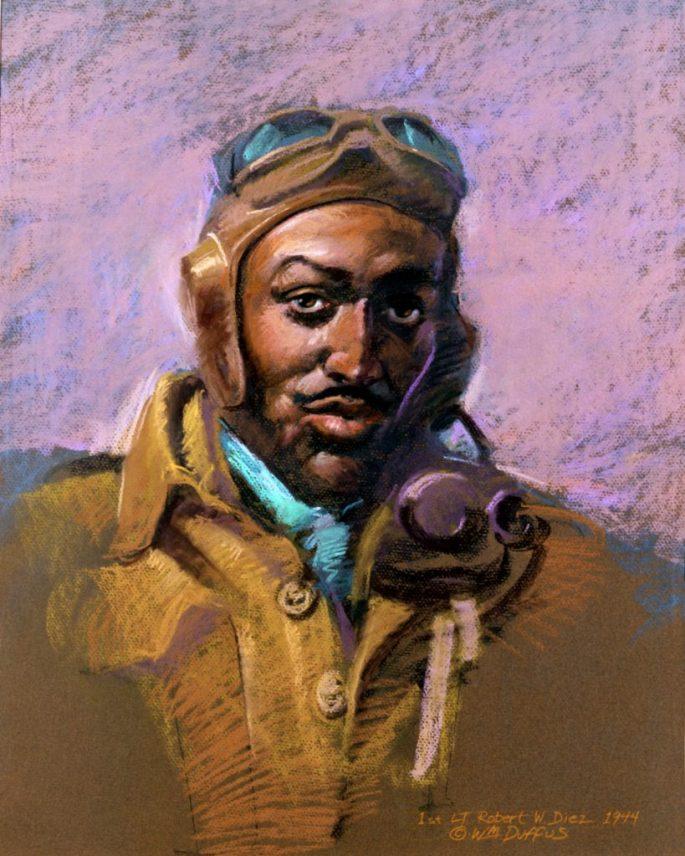 portrait of Deiz by William Duffus